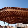 cubierta para pabellon multiusos en El Pobo (Teruel)