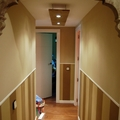 decorado de pasillo y elaboracion de lamparas