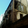 Demolición edificio.
