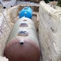 Depuradora aguas residuales y depósito para riego