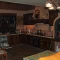 Detalle cocina interior chalet