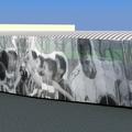 Detalle de propuesta de fachada.