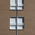 Detalle de ventanas en fachada