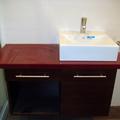 Detalle lavabo realizado a medida