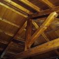 Detalle techo de madera