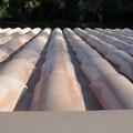 detalle tejado con teja arabe