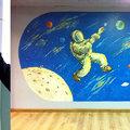 Detalles y murales de Parques Infantiles.