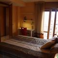 Diseño del espacio interior del dormitorio con terraza en Zaragoza