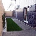 Diseño económico de jardín de obra nueva en Utebo