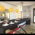 Diseño en 3d de cocinas