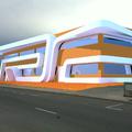 "Diseño exterior de nave industrial ""Arquitectura"""