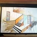 Diseño para escaleras oficina