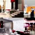 Diseños interiores de hostelería