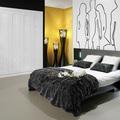 Dormitorio con armario Serie Diamond.