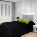 Dormitorio con armario serie Zafiro.