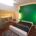 Dormitorio en vivienda en bloque