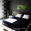 Dormitorio en vivienda unifamiliar