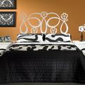 Dormitorio GALATEA con cabecero de cama en forja