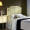 Dormitorio juvenil cabecero rejilla