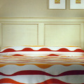 Dormitorio matrimonio cabecero recto cornisa