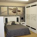 Dormitorio Pino macizo modelo Piedra.