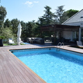 piscina Chalet Las Rozas