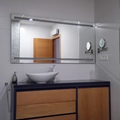 Conjunto de mueble de baño y espejo