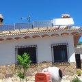 Instalación Solar  en casa Aislada