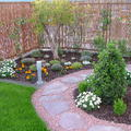 camino gravilla jardin unifamiliar