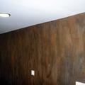 efecto oxido en pared de comedor