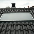 Energía solar con panel integrado en tejado