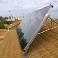 Sistema Solar para agua caliente y calefacción