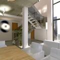 Escalera metálica vivienda unifamiliar Serra