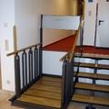 Escaleras convertible en plataforma Salvaescaleras