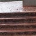 escaleras foradas de mortero impreso