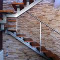 Escaleras interiores.
