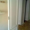 Esmaltado de puertas de paso con molduras