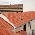 Estado reformado de la cubierta del edificio comunitario II