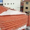 Estado reformado de la cubierta del edificio comunitario