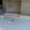 exteriores   despues  de aplicar micro cemento