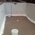 exteriores y piscina  antes  de aplicar micro cemento