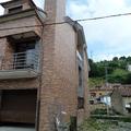 Fachada de la construcción de casa