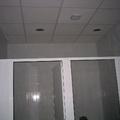 Falso techo con acabado vinilico