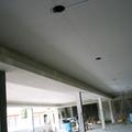 Falso techo continuo y detalle de candileja