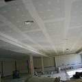 Falso techo continuo.