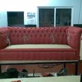 Fase fabricación sofá capitoné