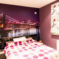 Foto mural dormitorio. Puente