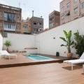 Jardín privado en Barcelona