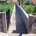 fundicion de muro y paso