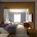 Habitación luxury. Hotel República Dominicana